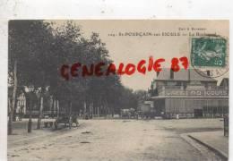 03 -   SAINT POURCAIN SUR SIOULE -  LE BOULEVARD  - CAFE DU COURS