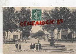 03 -   SAINT POURCAIN SUR SIOULE -  AVENUE DE LA GARE   FONTAINE