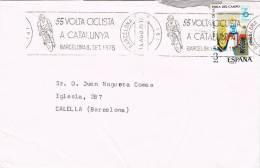 0152. Carta Barcelona 1975. Volta Ciclista Catalunya. Ciclismo - Ciclismo
