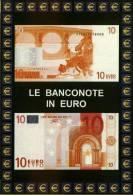 Carte Postale Euro Monnaies Italiennes 10 Euro Billets De Banque - Monete (rappresentazioni)