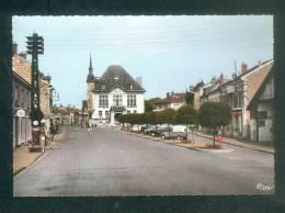 Sermaize Les Bains (51) - Place De L' Hôtel De Ville ( Voiture Automobile Citroën 2CV  Pompe à Essence AZUR COMBIER CIM - Sermaize-les-Bains