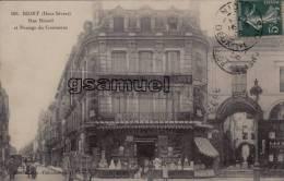 D - 79. - NIORT - Rue Ricard Et Passage Du Commerce. - Epicerie Niortaise, PERSUY. Produits Julien DAMOY. - (voir Scans) - Niort