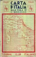 CARTA D´ITALIA -T.C.I. - Anno 1943 -  - Foglio 4 - Mappe