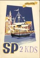 QSL -  Kaart - Amateur Radio Polen - Poland - Gdansk 1959 - Cartes QSL