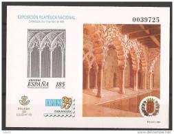 ESPO68-L39142TARMS.España. Spain.Espagne PRUEBA OFICIAL 68 EXFILNA 99-1999 .(Ed PO 68) Sin Dentar.LUJO - Mezquitas Y Sinagogas