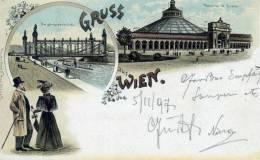 WIEN-VIENNA. Gruss Aus.......Posted For GRAZ  6.11.1897. - Vienna