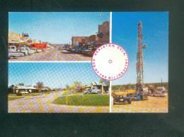 USA - Healdton - Oklahoma - Hub Of The Oil Industry ( East Main Street Derrick ... Automobiles Pétrole Gough Photo Serv. - Etats-Unis