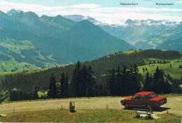JAUNPASS 1511 M. - Avec Une Voiture Rouge, Ford ? - TBE, Carte Neuve, 2 Scans - Suisse