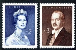L0404) LIECHTENSTEIN 1960  Mi.#402-03  Mnh** - Liechtenstein