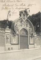 """PARIS SALLE DE SPECTACLE """" BULLIER """" CIRQUE THEATRE ART NOUVEAU 75 - France"""