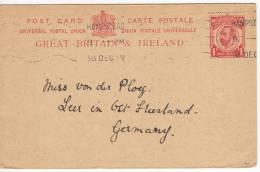 1048. Great Britain, 1912, Postal Stationery - 1902-1951 (Kings)