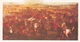 Brooke Bond Trade Card Queen Elizabeth I & II No 16 Battle Of Blenheim 1704 - Tea & Coffee Manufacturers