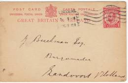 1052. Great Britain, 1915, Postal Stationery - 1902-1951 (Kings)