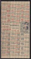 = Tickets Rationnement Viandes Type A  Juin 1947 - Altri