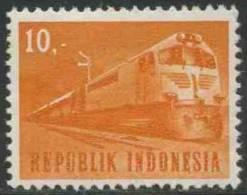 Indonesia Indonesie 1964 Mi 446 * MH - Diesel Train – Transport / Dieselllokomotive - Transport Und Verkehr - Treinen