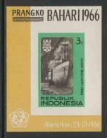 Indonesia Indonesie 1966 B6 = Mi 547 B **  Liner In Dry-dock – Maritime Day / Dampfer Im Trockendock - Tag Der Seefahrt - Transportmiddelen