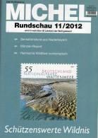 MICHEL Briefmarken Rundschau 11/2012 Neu 5€ New Stamps Of The World Catalogue And Magacine Of Germany - Magazines