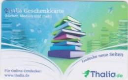 GIFT CARD - GERMANY - THALIA 08. - GESCHENKKARTE - BOOKS - Unclassified
