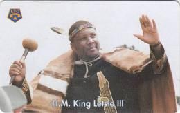 LESOTHO - H.M.King Letsie III, Used