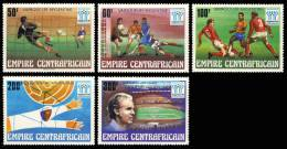 CENTRAFRIQUE ( Empire )  368 à 372 - Coupe Du Monde