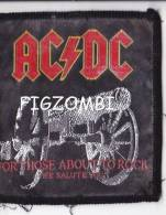 """Ecusson ACDC """"for Those About To Rock"""" - Varia"""