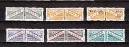 SAN MARINO-1965- Sc#  Q42-Q47-MINT NH FVF - $-8.40 -SALE $2.20 - Paquetes Postales