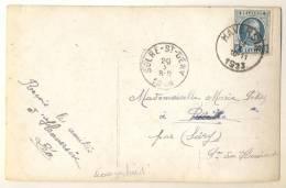 _1p751: Fantasiekaartje Met: N°193: HAVERSIN 1923 >> SOLRE-ST-GERY - 1922-1927 Houyoux
