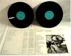 2 LP`s ( Doppel-LP) , Ludwig Van Beethoven Gesamtausgabe - Missa Solemnis D-Dur Op. 123 - Von Eterna - Klassik
