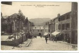 Carte Postale Ancienne Mont Louis - La Grand'Rue - Autres Communes