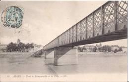 ARLES - Pont De Trinquetaille Et La Ville - Arles