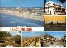 80 Fort Mahon En 1984 Casino Cinéma Camping Plage Citroën 2CV Moto - Fort Mahon