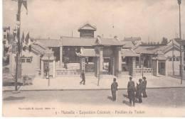 CPA MARSEILLE EXPOSITION COLONIALE PAVILLON DU TONKIN - Colonial Exhibitions 1906 - 1922