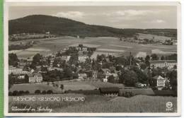 """Warnsdorf M. Spitzberg.""  Um 1930 /1940  Postkarte Verlag: Silesia, Nr.6847 - Sudeten"