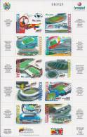 Soccer Football Fussball 2007 Venezuela Venesuela KB 3910/9 Copa America MNH ** - Soccer