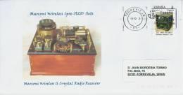 SPAIN, 2012 Old Radios - Marconi Wireles (pre-120) Sets - Marconi Wireles 16 Crystal Radio Receiver - Telecom - Telecom