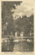 89 CPA Mailly Le Chateau Paysage Sur Riviere Barque - Autres Communes
