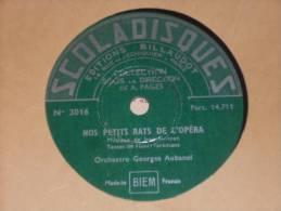 78T Chanson Christiane Gaudel - 78 T - Disques Pour Gramophone