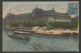 DF / FRANCE SUR CARTE POSTALE / TP 257 DELIVRANCE D' ORLEANS PAR JEANNE D' ARC / CIRCULEE EN 1929 - Covers & Documents