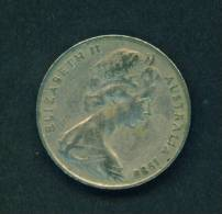 AUSTRALIA  -  1980  20 Cents  Circulated As Scan - Decimal Coinage (1966-...)