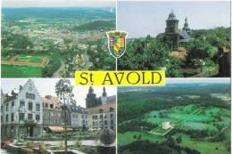 Z  363  CPM   SAINT AVOLD MULTIVUE - Saint-Avold