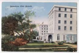 AMERICA ANTILLES BERMUDA BERMUDIANA HOTEL OLD POSTCARD - Bermuda
