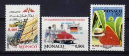 Monaco 2003  N° 2384 à 2386 Neuf**  (cote Y.&T. : 8.35€) - Non Classificati