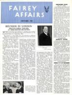 FAIREY AFFAIRS - October 1946 - Avions FAIREY - (SONACA)      (2884) - Revistas & Periódicos