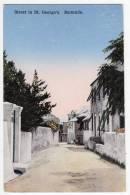 AMERICA ANTILLES BERMUDA STREET IN ST. GEORGE'S OLD POSTCARD - Bermuda