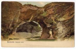 AMERICA ANTILLES BERMUDA NATURAL ARCH OLD POSTCARD - Bermuda