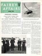 FAIREY AFFAIRS - June 1948 - Avions, Bateaux  FAIREY - (SONACA)       (2888) - Revistas & Periódicos