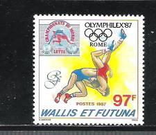 Wallis Und Futuna ** , 529 , Weltmeisterschaften Im Ringen - Zonder Classificatie