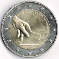 Coin, Malta,2011,2 Euro,First Election Of The Parlament,  In Case - Malta