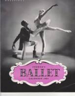 C0889 - CALENDARIO CONRAD'S BALLET 1957 - BALLETTO - Calendari