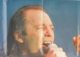 C0890 - POSTER VASCO ROSSI TOUR '91 - CLAYTON NORCROSS Inserto - Manifesti & Poster